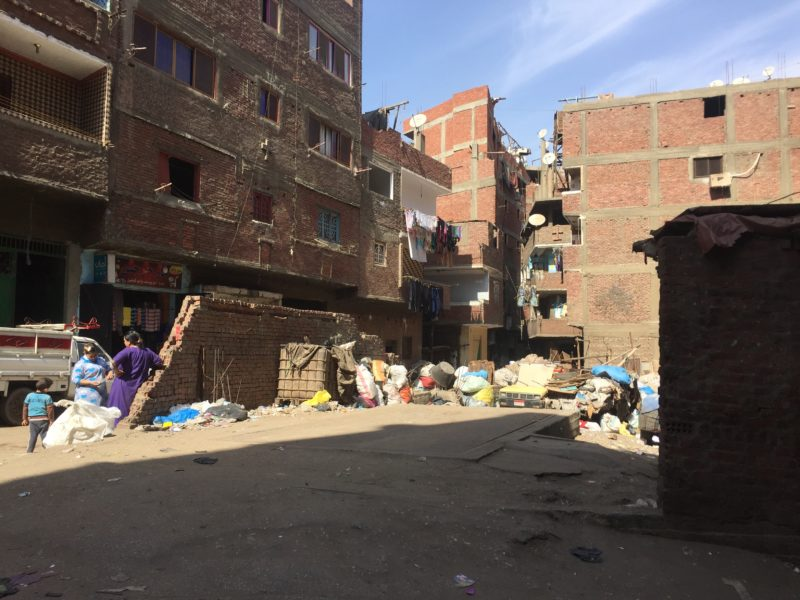Haus in Garbage City Kairo