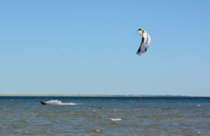 Kitesurfen Tofthuse am Limfjord in Dänemark