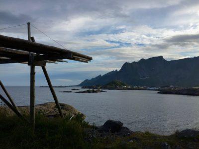 Kostenloser Stellplatz Hamnøy