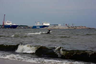 Kitesurfen Hanko