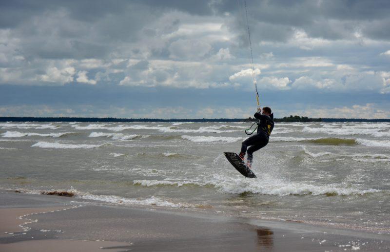 Kitesurfen in Yyteri Finnland
