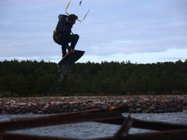 Kitesurfing Finnland