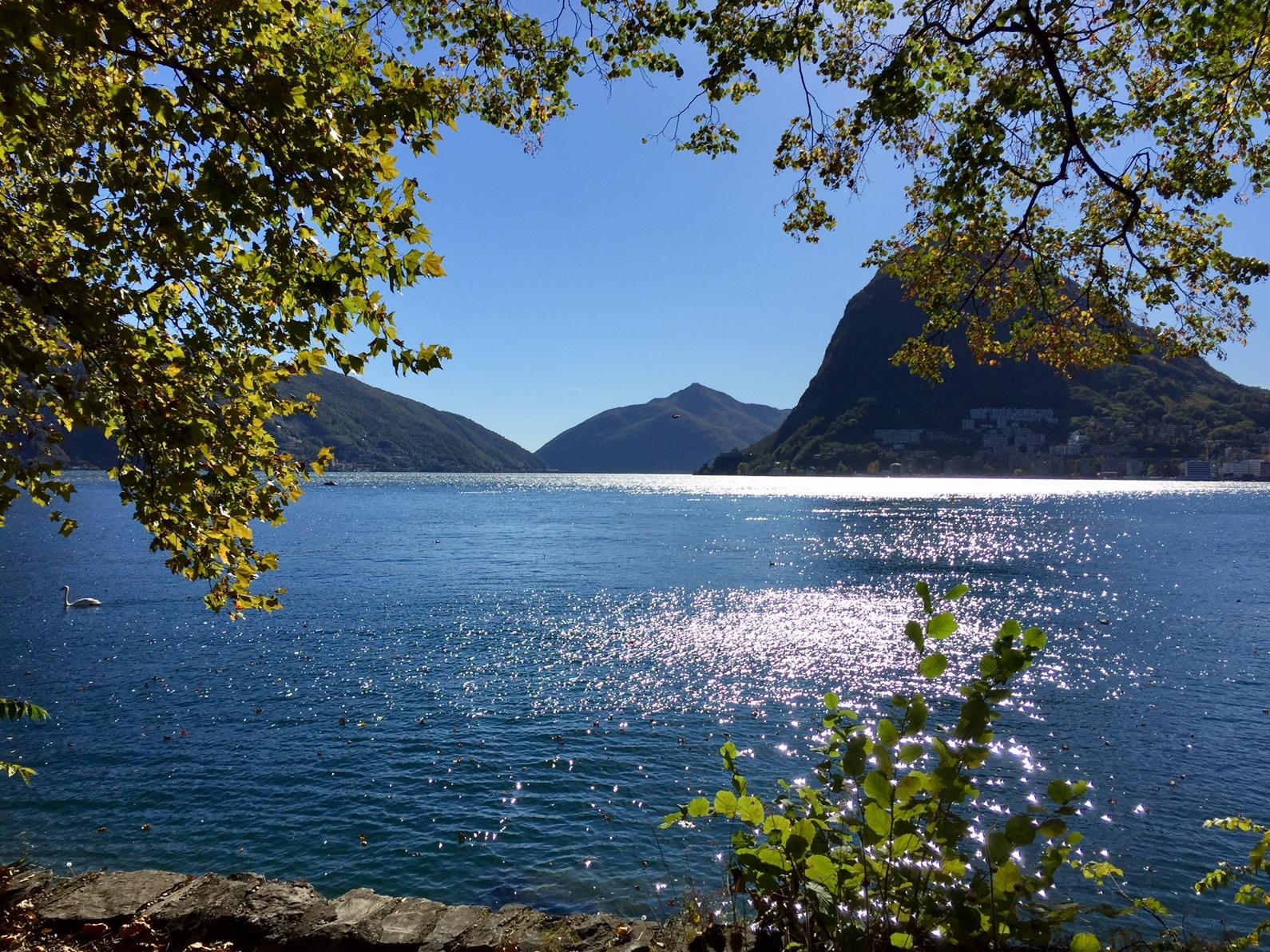 Lago di Lugano Schweiz