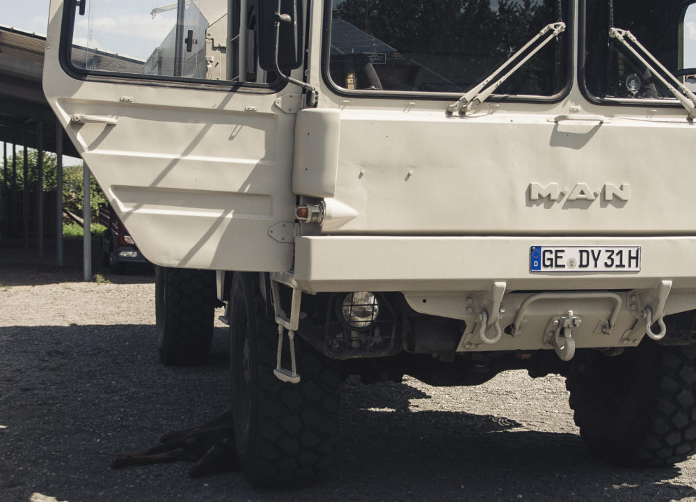 Unser Expeditionsmobil: MAN KAT1 4×4