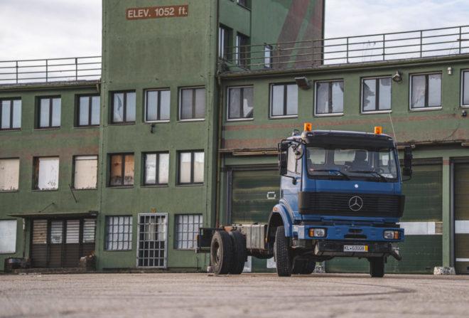 Unser Expeditionsmobil: Mercedes-Benz 1824 AK