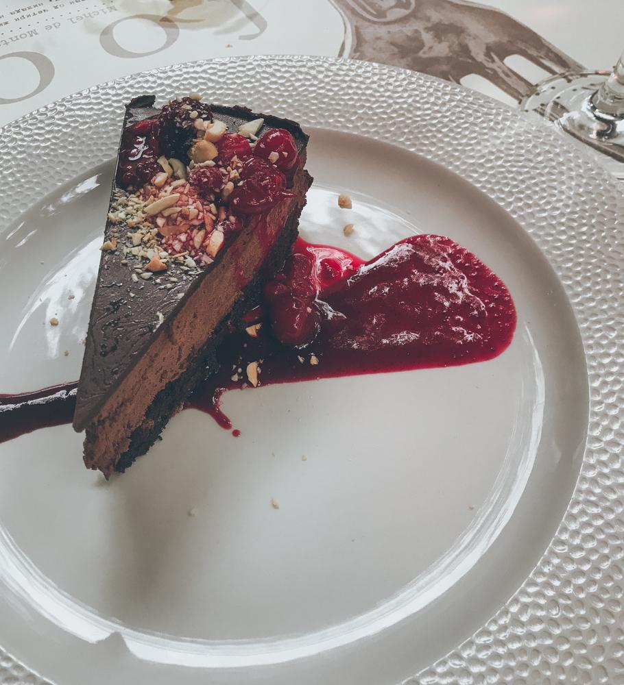 Schokoladen-Kuchen im Project 72