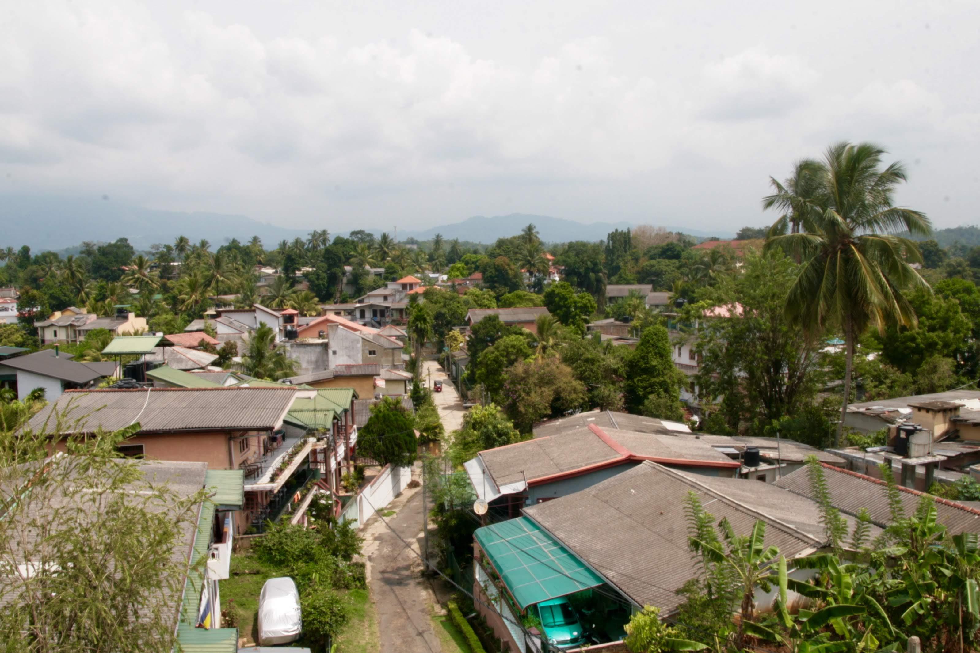 Ausblick Unterkunft Kandy Sri Lanka