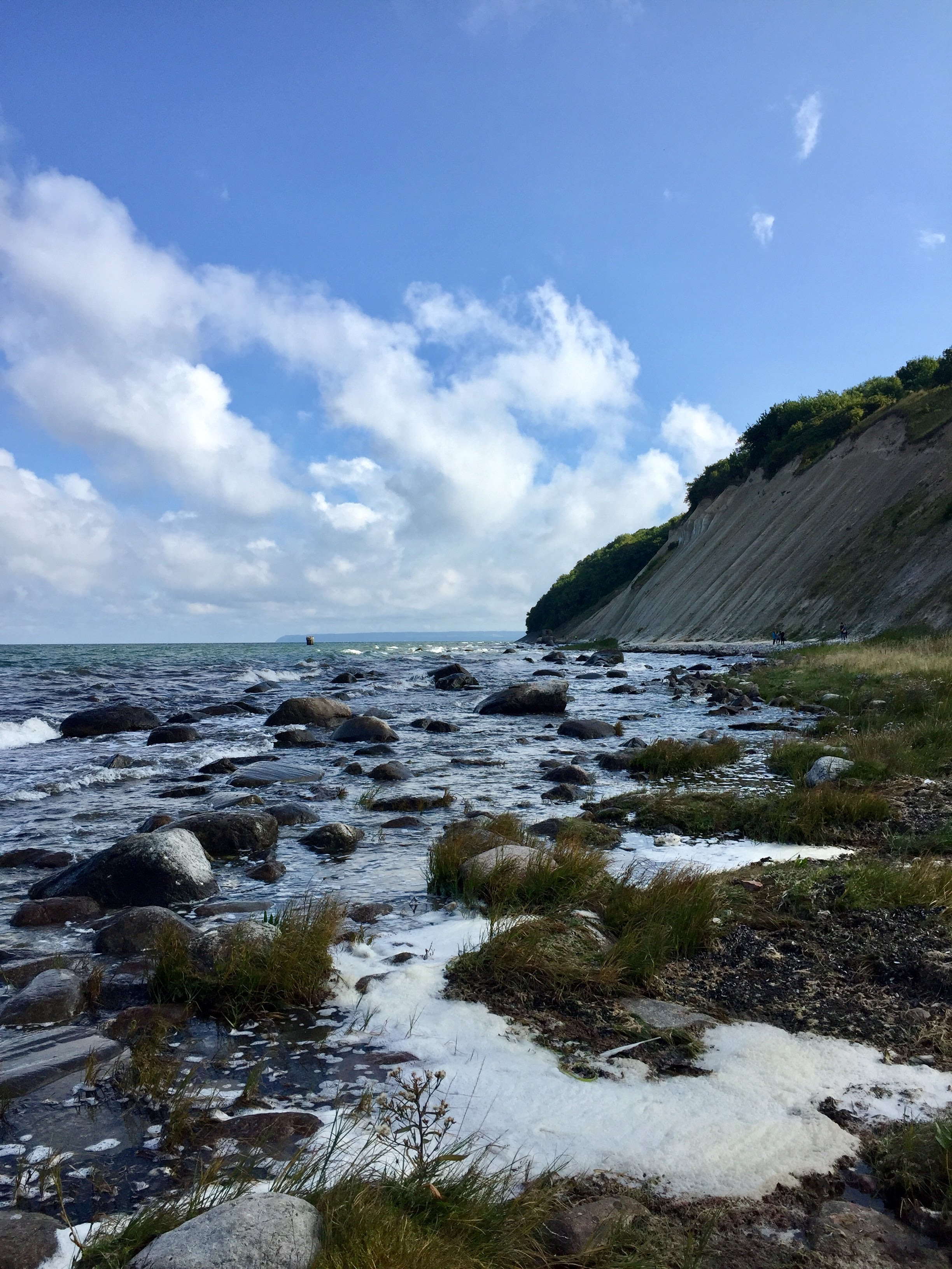 Wanderung zu den Kreidefelsen auf Rügen