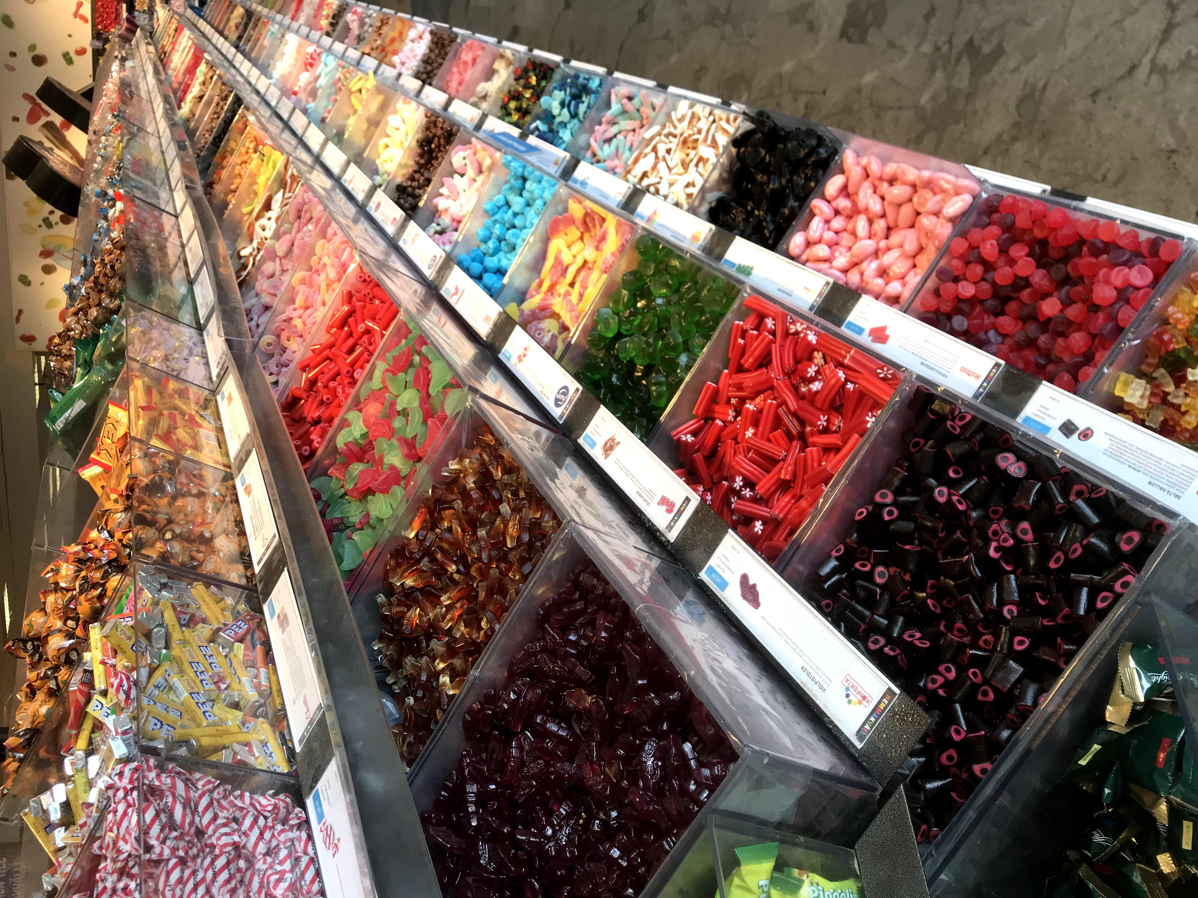 Süßigkeiten bei Hemmakväll in Malmö